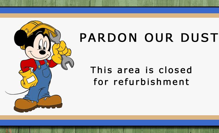 Disney World Refurbishments & Closings