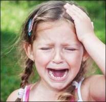 child with migraine