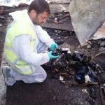 Tefillin at scene of bomb attack in Bulgaria