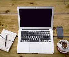 laptop, blogging