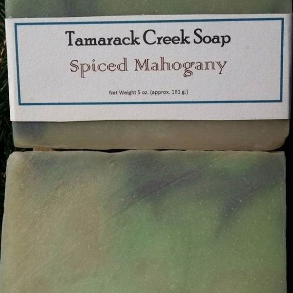 Spiced Mahogany Soap Bar