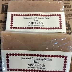 Apple Jack Scented Bath Soap
