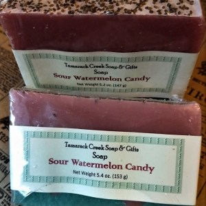 Sour Watermelon Scented Soap Bar