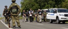 OSCE members denied access to flight MH17 crash site