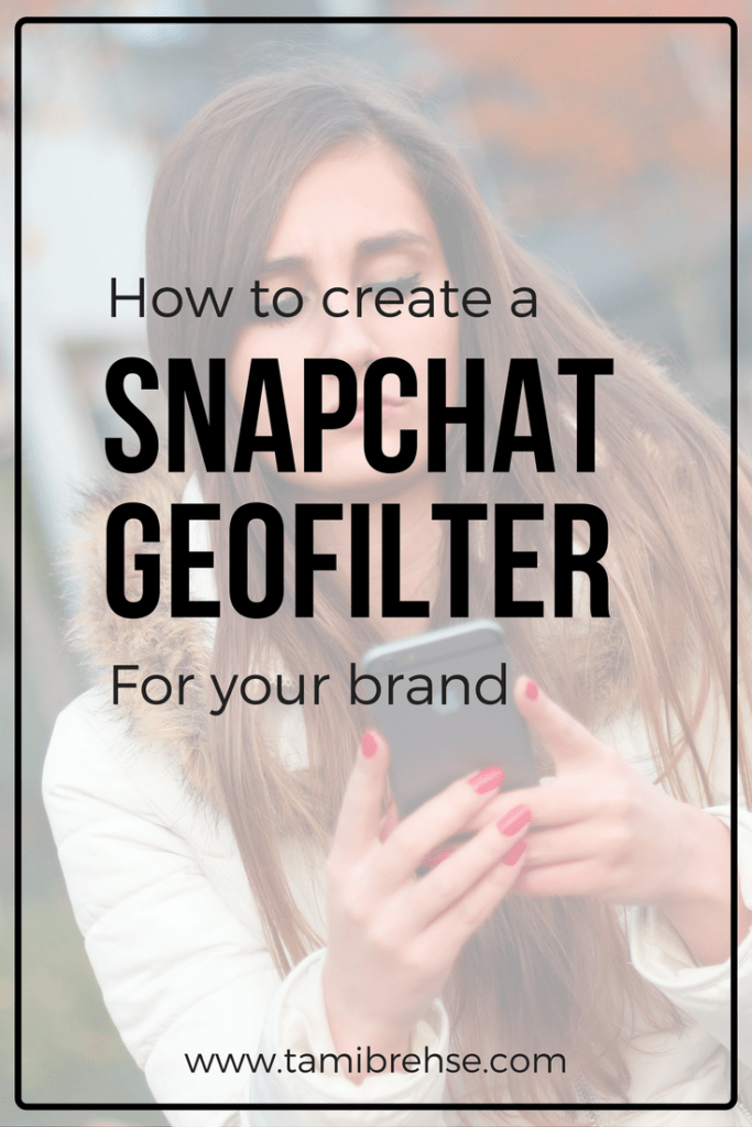How to make a snapchat geofilter