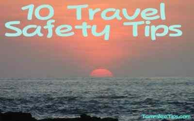 Vacation Travel Safety Tips