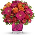 Turn Up The Pink Bouquet - TEV33-1A