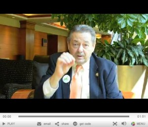 picture of video from NAR President