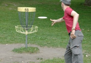 image of disc golf