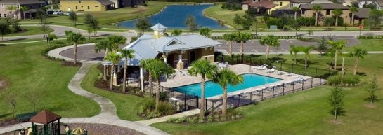 Basset Creek in New Tampa, FL - picture from Mobley homes
