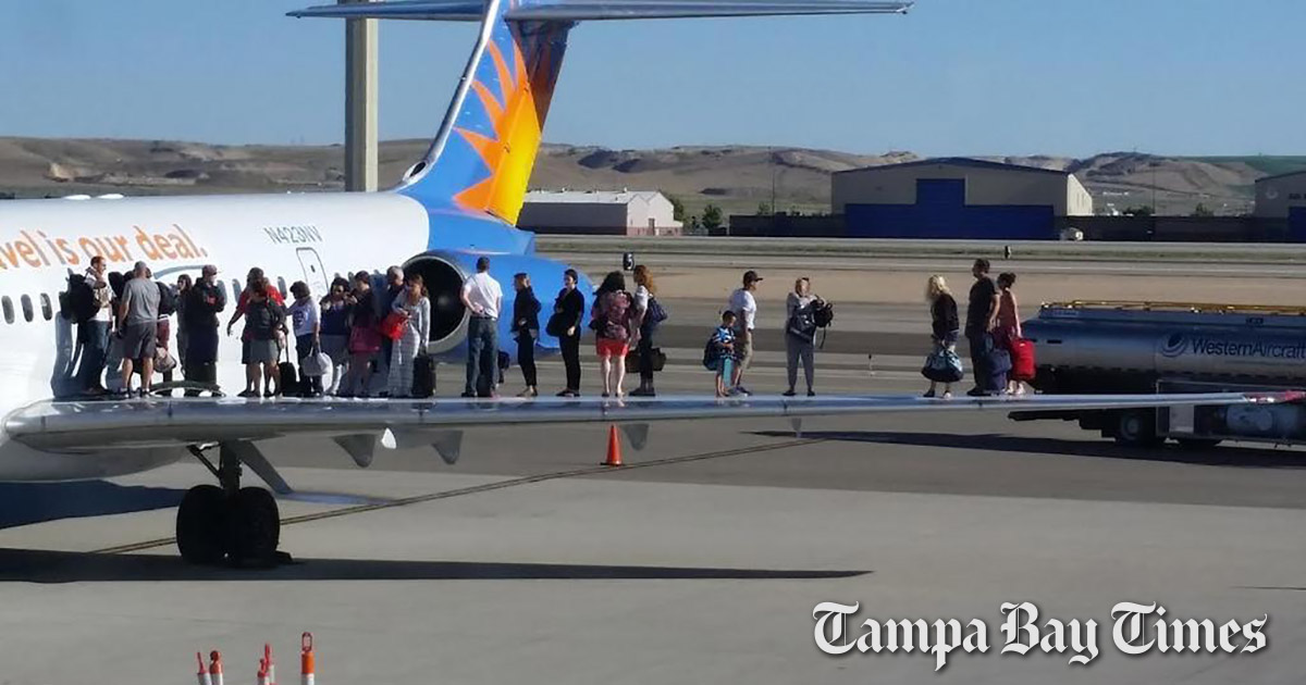Thousands of people flew Allegiant thinking their planes wouldn\u0027t