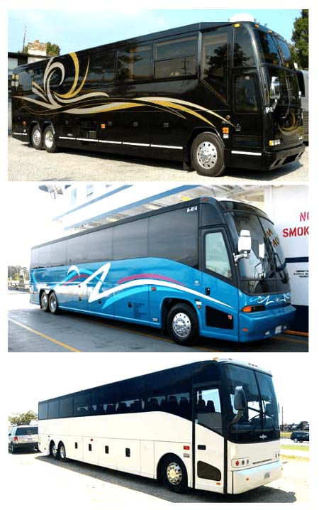 Best Charter Bus Homosassa FL