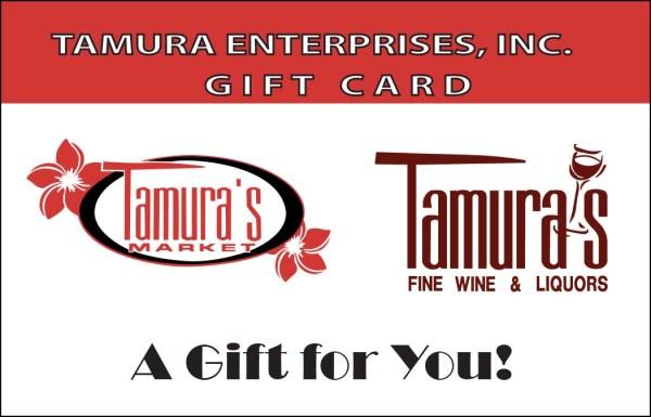 Tamuras Gift Card