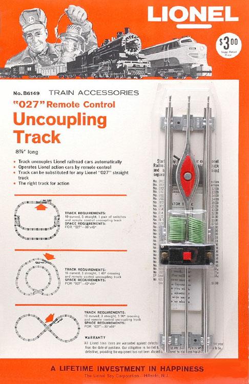 LIONEL TRAINS 6149 REMOTE CONTROL UNCOUPLING TRACK