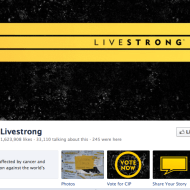 Livestrong on Facebook