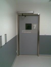 TSP HEALTCARE SERVICE DOOR - STAINLESS STEEL DOORFRAME ...