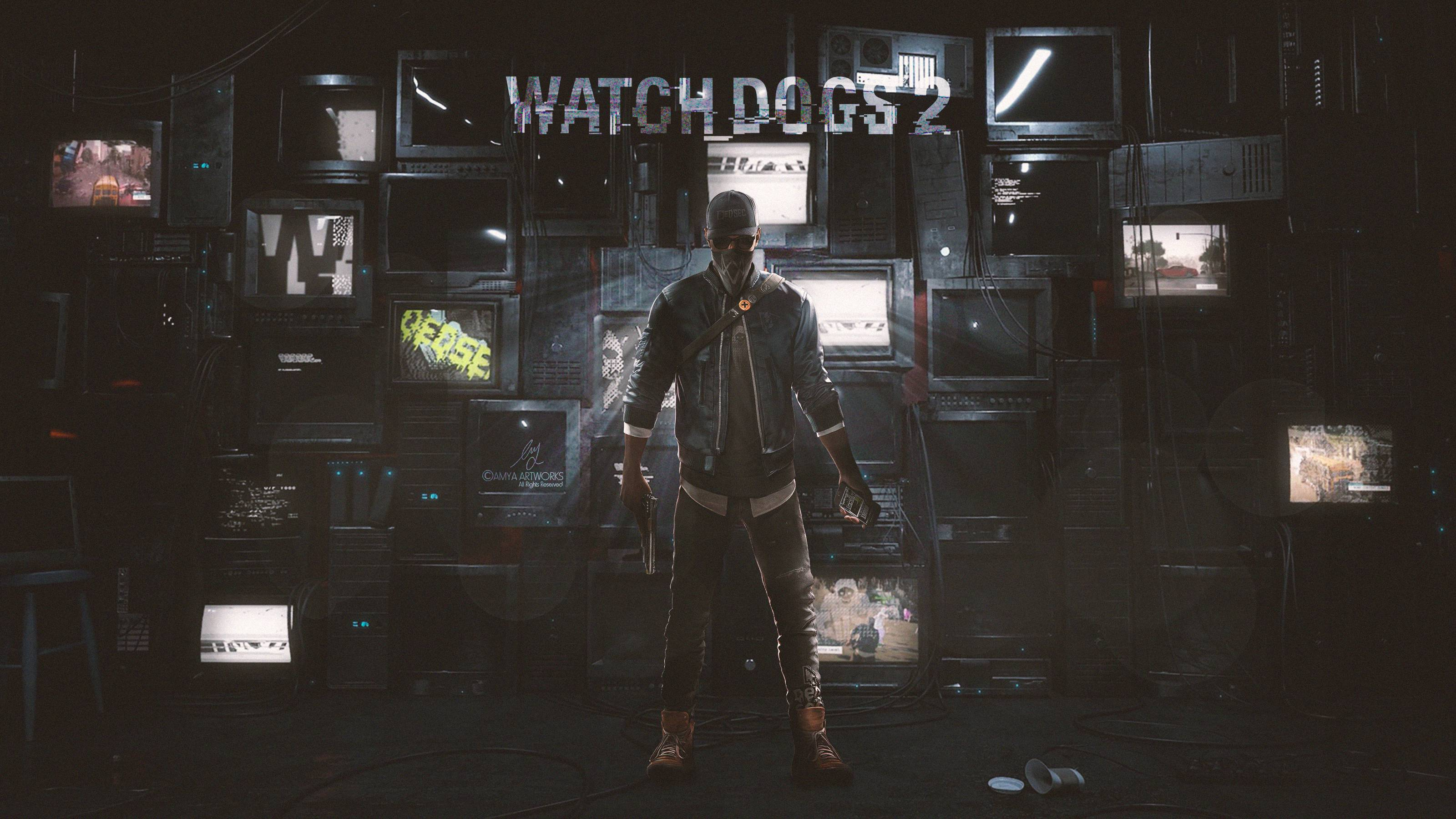 Project Cars 2 Deluxe Edition Wallpaper Watch Dogs 2 Marcus Holloway Hacker Wallpaper