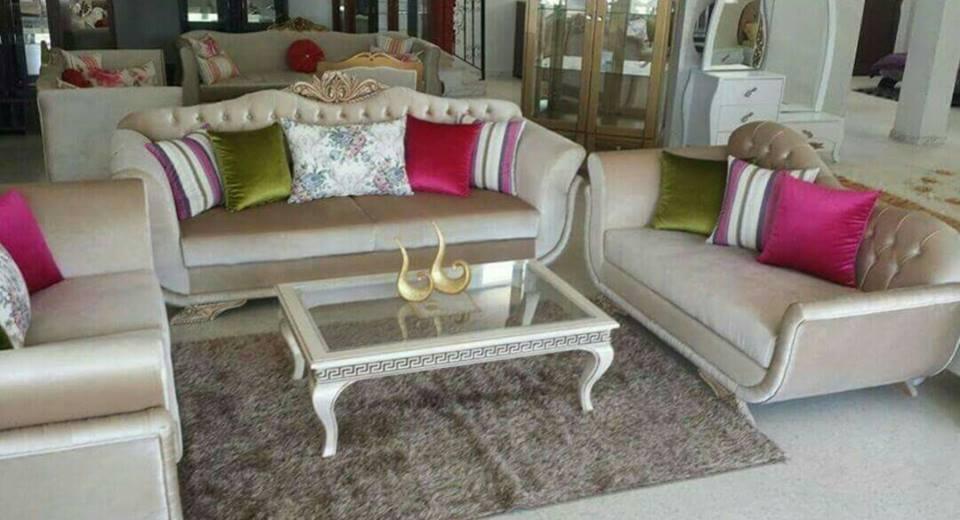 Salon meuble Kelibia - Meubles et décoration Tunisie