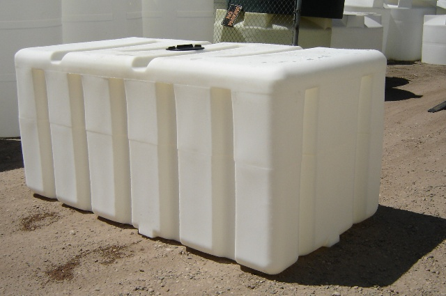 Custom Roto Molding 750 Gallon Rectangular Tank