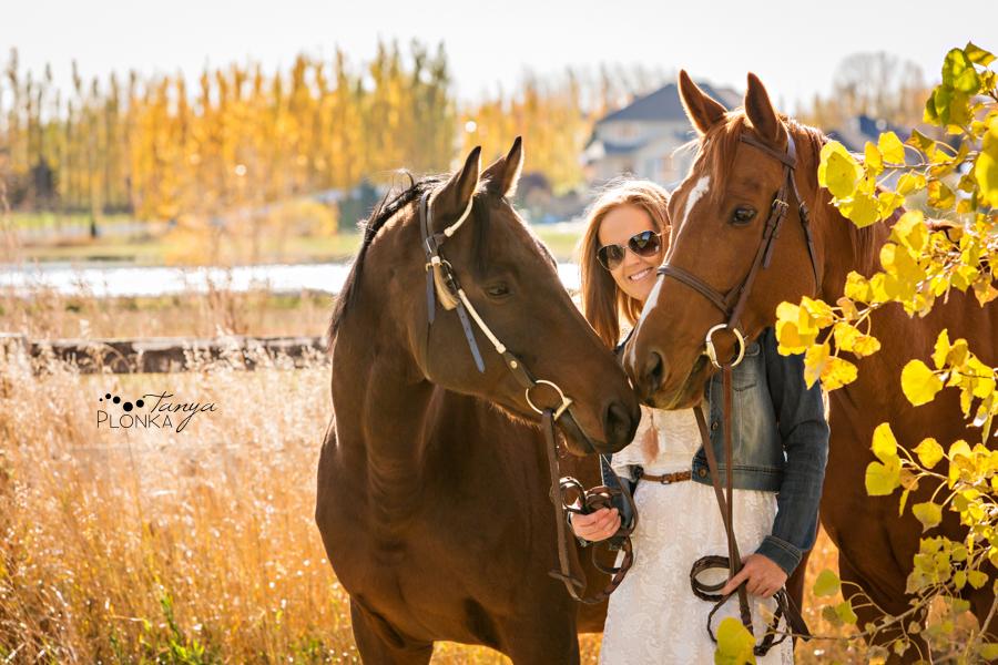 Be Happy Girl Wallpaper Lethbridge Autumn Horse Portraits Stephanie
