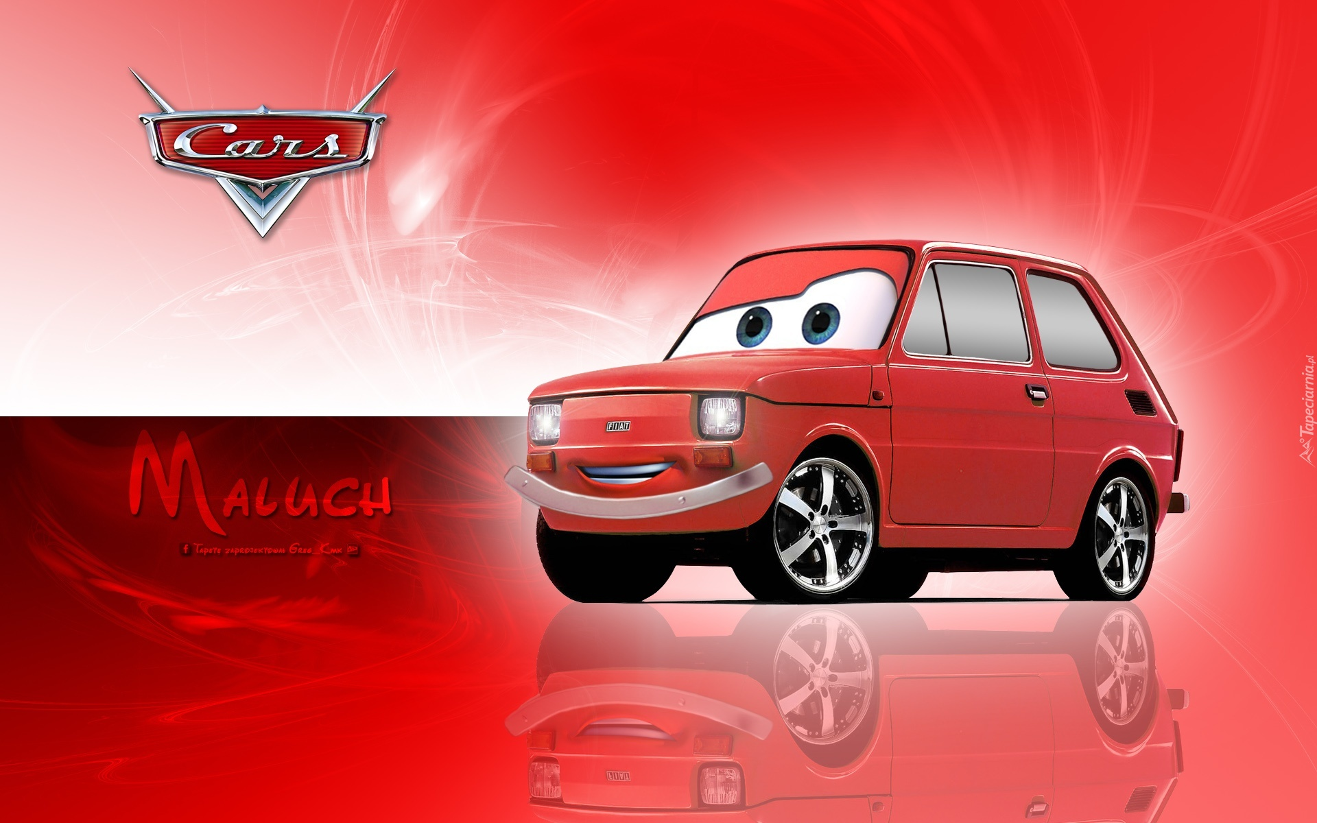 Disney Cars 2 Wallpaper Auta Fiat 126p Maluch Disney Pixar