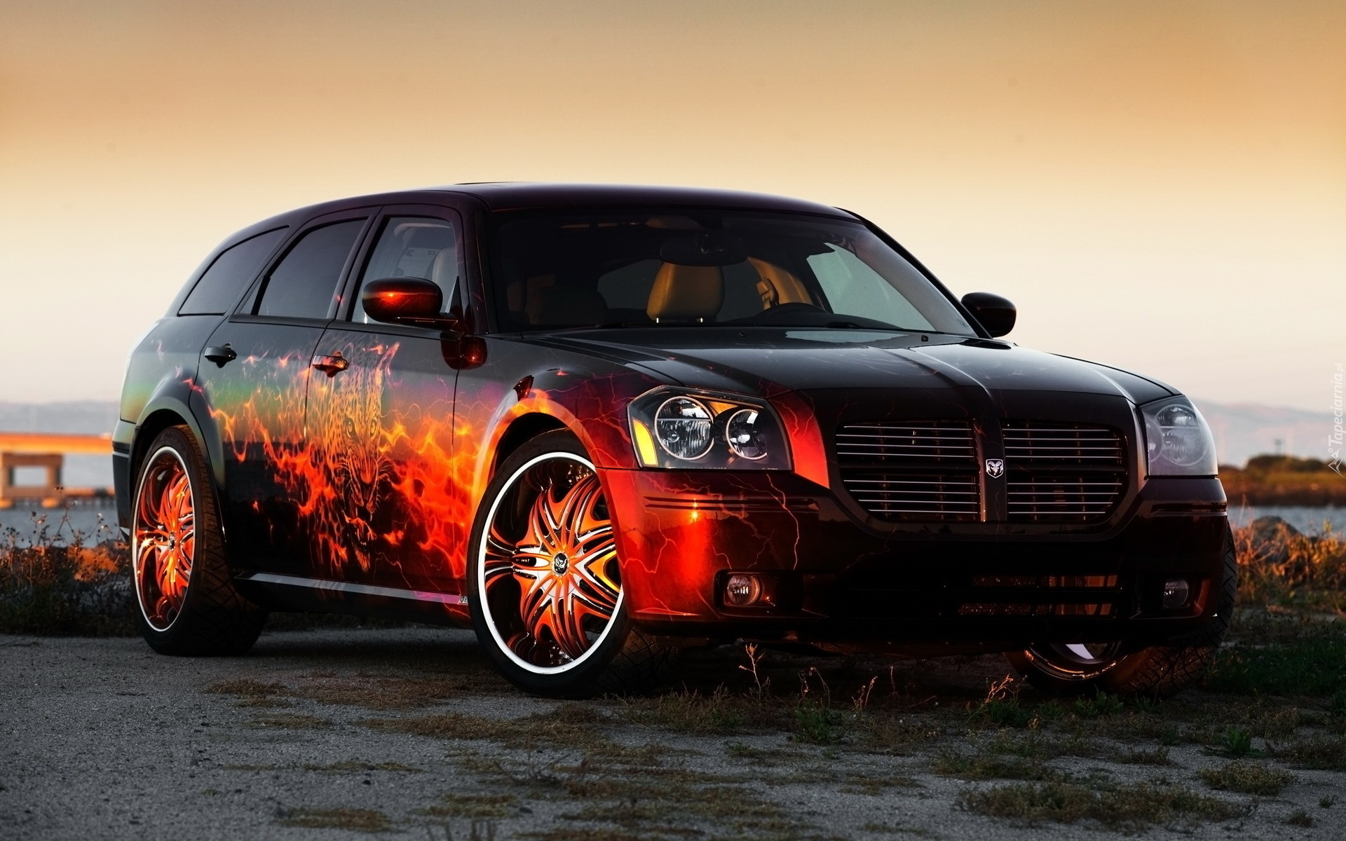Cool Girl Wallpaper Tapety Dodge Magnum