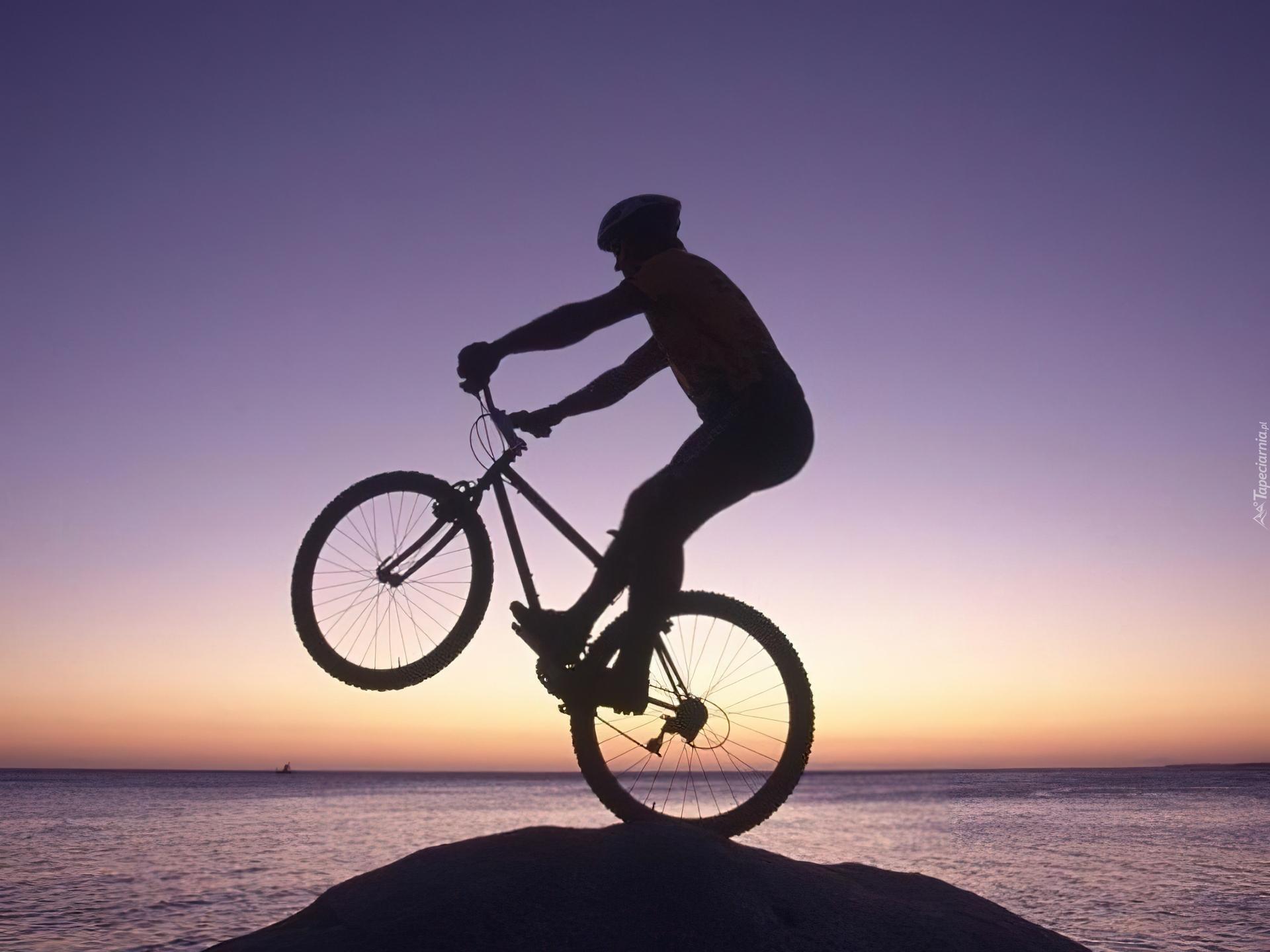 Hd Wallpaper Girl Bike Rower Koło Kierownica Kask Rowerzysta