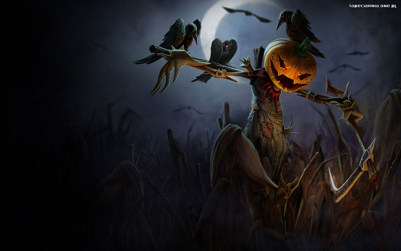 Fall Desktop Wallpaper Widescreen Free Halloween 1280x800 001 Tapety Na Pulpit