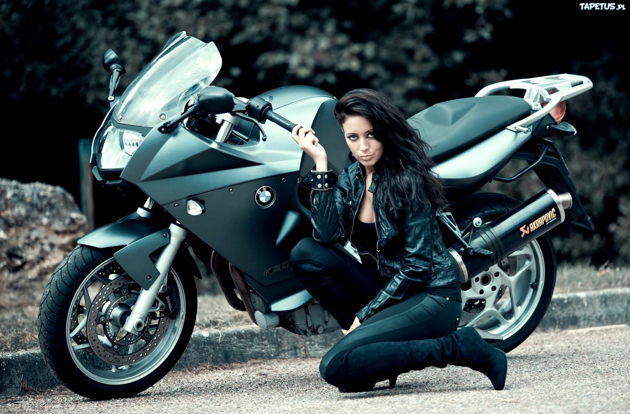 Bmw S1000rr Girl Wallpaper Motocykl Bmw Kobieta