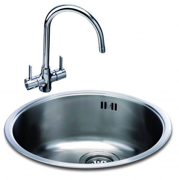 Carron Phoenix Carisma 400 Round Bowl Kitchen Sinks