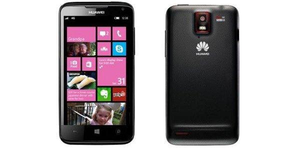 Nokia Lumia 920 Competitot Huawei Ascend W1