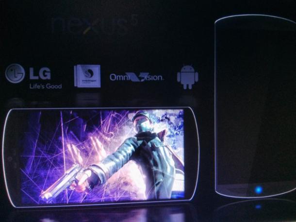 lg nexus 5 design