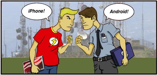 iphone-vs-android-vs-wireless-server