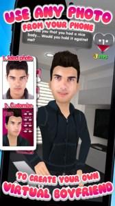 My Virtual Boyfriend iPhone App