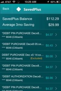 SavedPlus iPhone App