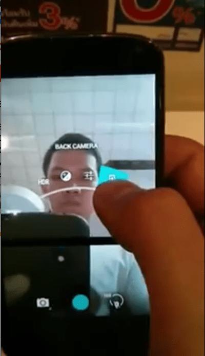 Android 4.3 Brings a Back Camera