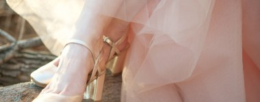 Tulle skirt for a spring bride
