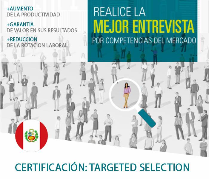 CERTIFICACIÓN  TARGETED SELECTION - PERÚ - Target DDI