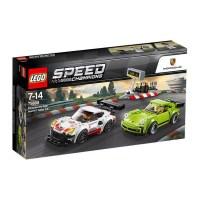 LEGO Speed Champions Porsche 911 RSR and 911 Turbo 3.0 ...