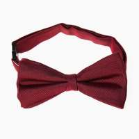 Grosgrain Plain Bow Tie - Red | Target Australia