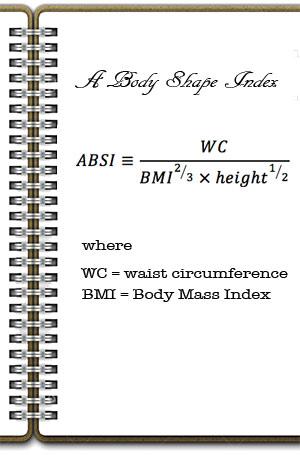 Obesity indicator - Body shape Index