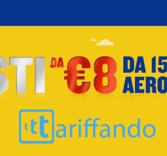 ryanair voli 8 euro