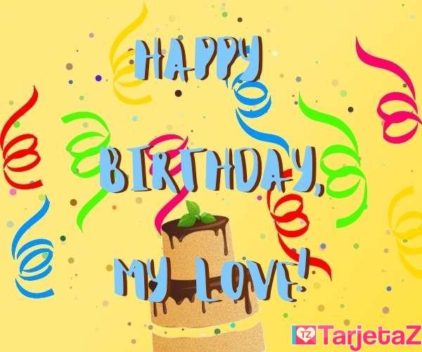 TARJETAS de CUMPLEAÑOS en INGLÉS - Happy Birthday to you!
