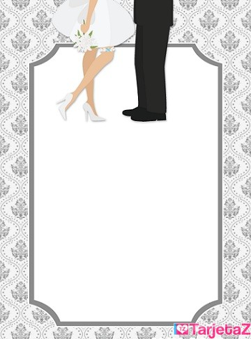formato para invitacion de boda - TarjetaZ