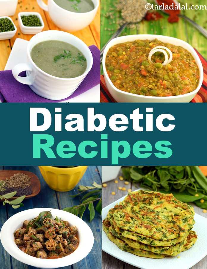 Diabetic Recipes, 300 Indian Diabetic Recipes, Veg Diabetic Diet