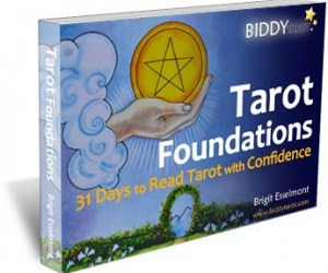 Tarot Foundations: 31 Days to Read Tarot with Confidence by Brigit Esselmont