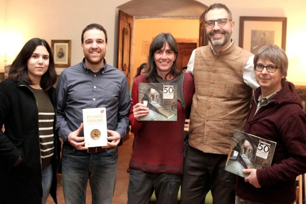 Presentació a Tàrrega del llibre de Manuel Forcano
