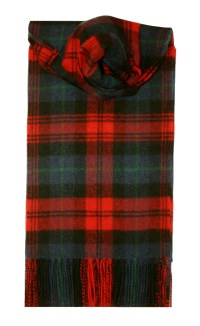 Lochcarron MacLachlan Tartan Lambswool Scarf