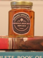labelled mulled apple jelly