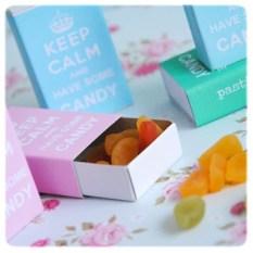 keep calm matchbox covers